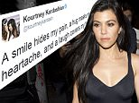 Kourtney Kardashian was seen being escorted by her mothers much younger boyfriend Corey Gamble as they left 'the Nice Guy' bar in West Hollywood, CA\n\nPictured: Kourtney Kardashian\nRef: SPL1240635  040316  \nPicture by: SPW / Splash News\n\nSplash News and Pictures\nLos Angeles: 310-821-2666\nNew York: 212-619-2666\nLondon: 870-934-2666\nphotodesk@splashnews.com\n