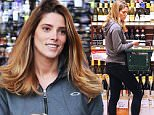 May 4th, 2016: Ashley Greene looks happy while exiting Bristol Farms after shopping for wine. 244/INF