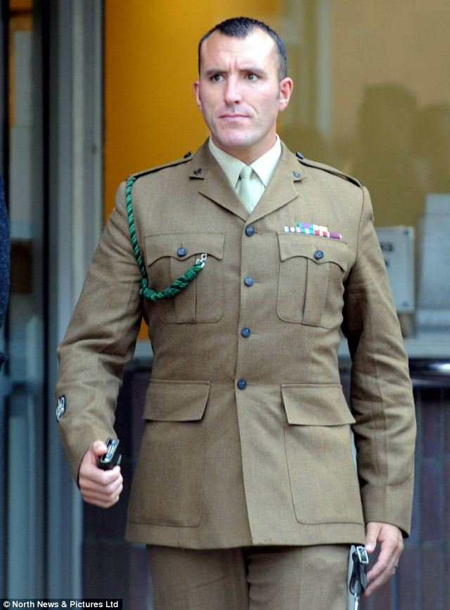 Sargeant Major Adam Hogg was overruled by an officer when he raised his concerns that British troops were being attacked