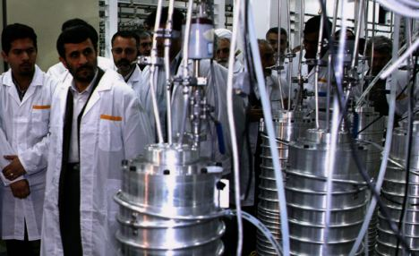 Ambition: The U.S. has tightened its sanctions on Iran amid fears over President Ahmadinejad's nuclear ambitions