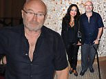 HOLLYWOOD, FL - MARCH 04:  Phil Collins and Orianne Cevey attend Little Dreams Foundation Press Conference at LBar in Seminole Hard Rock Hotel & Casino Hollywood on March 4, 2016 in Hollywood, Florida.  (Photo by Ralph Notaro/Getty Images)