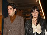 LONDON, ENGLAND - JANUARY 27:  Thomas Cohen and Daisy Lowe leaving J Sheeky restaurant after celebrating daisy's 27th birthday on January 27, 2016 in London, England.  (Photo by Mark Robert Milan/GC Images)