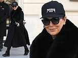 Mandatory Credit: Photo by Beretta/Sims/REX/Shutterstock (5610002g)\nKris Jenner leaving her hotel\nCelebrities out and about, Paris Fashion Week, France - 06 Mar 2016\n