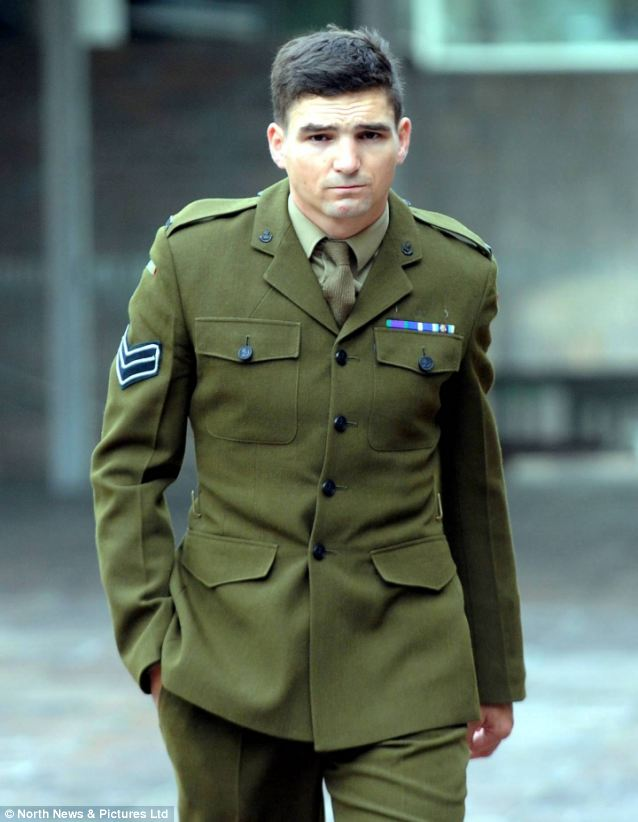 Corporal Ben Hall, describes himself as L/C Roney's 'best mate'