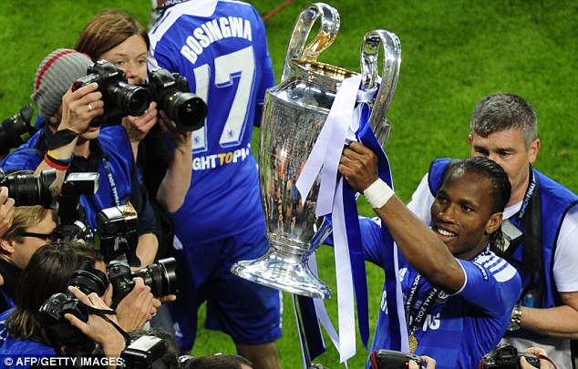 Champions: But English clubs are paying the penalty with UEFA