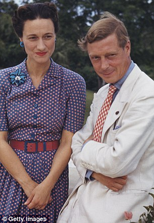 Royal affair: The Duke and Duchess of Windsor after their marriage