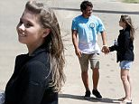 Bindi Irwin joined her boyfriend Chandler Powell at the Rail Jam wakeboard competition on the Sunshine Coast where Powell finished 4th in the men's pro category. Sunday, 6 March, 2016...Bindi watched from the water's side as Chandler competed, even trying his hand commentating.