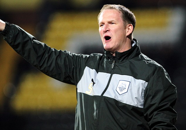 New man in charge: Simon Grayson took over from Westley