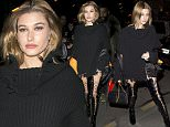 5 Mar 2016 - PARIS - FRANCE  Hailey Baldwin goes for dinner at Hotel Costes in Paris.  BYLINE MUST READ : XPOSUREPHOTOS.COM  ***UK CLIENTS - PICTURES CONTAINING CHILDREN PLEASE PIXELATE FACE PRIOR TO PUBLICATION ***  **UK CLIENTS MUST CALL PRIOR TO TV OR ONLINE USAGE PLEASE TELEPHONE   44 208 344 2007 **