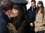 Picture Shows: Jamie Dornan, Dakota Johnson  March 04, 2016\n \n Stars were spotted on the set of 'Fifty Shades Darker' in Vancouver, Canada. Scenes were shared between actress Dakota Johnson and actors Jamie Dornan and Max Martini.\n \n Non-Exclusive\n UK RIGHTS ONLY\n \n Pictures by : FameFlynet UK © 2016\n Tel : +44 (0)20 3551 5049\n Email : info@fameflynet.uk.com