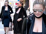Pregnant Chrissy Teigen and John Legend leave their apartment in New York City.\n\nPictured: Chrissy Teigen\nRef: SPL1241418  050316  \nPicture by: Christopher Peterson/Splash News\n\nSplash News and Pictures\nLos Angeles: 310-821-2666\nNew York: 212-619-2666\nLondon: 870-934-2666\nphotodesk@splashnews.com\n