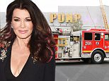 Lisa Vanderpump's restaurant Pump catches on fire as fireman and police officers get on scene in West Hollywood....Pictured: Lisa Vanderpump pump fire..Ref: SPL1221917  050216  ..Picture by: Be Like Water Production/Splash....Splash News and Pictures..Los Angeles: 310-821-2666..New York: 212-619-2666..London: 870-934-2666..photodesk@splashnews.com..