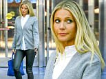 March 4, 2016: Gwyneth Paltrow is spotted jetting out of JFK airport in New York City. She is stopped by TSA for security check up. Mandatory Credit: PapJuice/INFphoto.com infusny-286