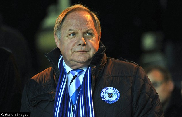 Support: Barry Fry said Westley's re-building job at Preston should have taken two to three years
