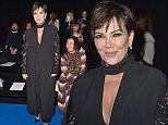 PARIS, FRANCE - MARCH 05:  Kris Jenner attends the Elie Saab show as part of the Paris Fashion Week Womenswear Fall/Winter 2016/2017 on March 5, 2016 in Paris, France.  (Photo by Pascal Le Segretain/Getty Images)