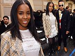 Mandatory Credit: Photo by David Fisher/REX/Shutterstock (5610021n)\nKelly Rowland and Lewis Hamilton in the front row\nJohn Galliano show, Autumn Winter 2016, Paris Fashion Week, France - 06 Mar 2016\n