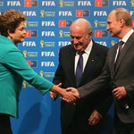 From Brazil to Russia: symbolic hand-over at the Maracana