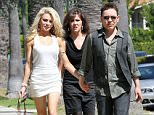 EXCLUSIVE: Courtney Stodden out for a walk in LA with mother Krista and husband Doug Hutchison. The couple's relationship has caused controversy because Doug is 51 and Courtney is only 16. The pair married after meeting online. Hand in hand they seemed very loved up as they walked with Courtney's mother Krista.\n\nPictured: Courtney Stodden, Doug Hutchison and Krista Stodden\n\nRef: SPL298077  240711   EXCLUSIVE\nPicture by: Splash News\n\nSplash News and Pictures\nLos Angeles:\t310-821-2666\nNew York:\t212-619-2666\nLondon:\t870-934-2666\nphotodesk@splashnews.com\n