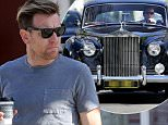 EXCLUSIVE: Ewen McGregor styles around in Brentwood in his classic black Rolls Royce. McGregor dropped off his dry cleaning and picked up a coffee.\n\nPictured: Ewen McGregor\nRef: SPL1240967  040316   EXCLUSIVE\nPicture by: Splash News\n\nSplash News and Pictures\nLos Angeles: 310-821-2666\nNew York: 212-619-2666\nLondon: 870-934-2666\nphotodesk@splashnews.com\n