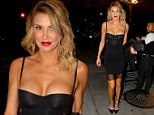 Former The Real Housewives of Beverly Hills star Brandi Glanville at Craig's in West Hollywood for dinner\n\nPictured: Brandi Glanville\nRef: SPL1241615  050316  \nPicture by: Mr Photoman / Splash News\n\nSplash News and Pictures\nLos Angeles: 310-821-2666\nNew York: 212-619-2666\nLondon: 870-934-2666\nphotodesk@splashnews.com\n