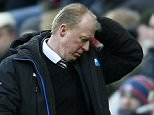 """Newcastle United manager Steve McClaren appears dejected during the Barclays Premier League match at St James' Park, Newcastle. PRESS ASSOCIATION Photo. Picture date: Saturday March 5, 2016. See PA story SOCCER Newcastle. Photo credit should read: Owen Humphreys/PA Wire. RESTRICTIONS: EDITORIAL USE ONLY No use with unauthorised audio, video, data, fixture lists, club/league logos or """"live"""" services. Online in-match use limited to 75 images, no video emulation. No use in betting, games or single club/league/player publications."""