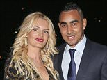 Picture Shows: Ludivine Payet, Dimitri Payet  March 03, 2016    Dimitri Payet from West Ham United attends the London Football Awards at Battersea Evolution in London, England. The Midfielder attended the awards with his wife Ludivine Paynet.     Non-Exclusive  WORLDWIDE RIGHTS    Pictures by : FameFlynet UK © 2016  Tel : +44 (0)20 3551 5049  Email : info@fameflynet.uk.com