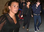 Pics Paul Cousans/Zenpix Ltd\nAdele...\nUtd players arrive to watch Adele in Manchester tonight\nRooney back from Dubai arrives to watch the show minus leg brace\n