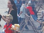 EXCLUSIVE. Coleman-Rayner. Battambang, Cambodia.\nFebruary, 2016\nAngelina Jolie directs her cast and crew on the final day of shooting for her upcoming movie, ?First They Killed My Father� in Battambang, Cambodia. The mom-of-six was joined by her adorable daughter Shiloh and son Pax. The movie�s dramatic closing scenes featured hundreds of extras dressed up as military, with locals lining the streets to catch a glimpse of the highly-anticipated project.\n** VIDEO ALSO AVAILABLE **\nCREDIT LINE MUST READ: Coleman-Rayner\nTel US (001) 323 545 7548 - Moblie \nTel US (001) 310 474 4343 - Office\nwww.coleman-rayner.com