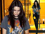 Mandatory Credit: Photo by GUILLAUME COLLETe/SIPA/REX/Shutterstock (5610111a) Kendall Jenner left the Peninsula Hotel and went to have diner in the Kinu Restaurant with Kris Jenner and her friend Kendall Jenner out and about, Paris, France - 06 Mar 2016