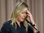 LOS ANGELES, CA - MARCH 07:  Tennis player Maria Sharapova addresses the media regarding a failed drug test at The LA Hotel Downtown on March 7, 2016 in Los Angeles, California. Sharapova, a five-time major champion, is currently the 7th ranked player on the WTA tour. Sharapova, withdrew from this weeks BNP Paribas Open at Indian Wells due to injury.  (Photo by Kevork Djansezian/Getty Images)