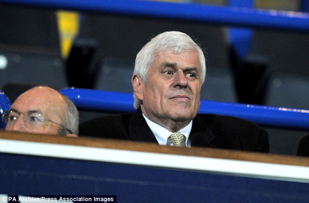 End of the road: Preston chairman Peter Ridsdale told Westley he was sacked at Waterloo station in London