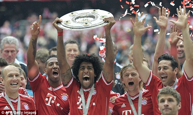 Swansong: Heynckes could finish his tenure with a treble if they win at Wembley tonight