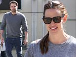 Santa Monica, CA - Jennifer Garner meets up with Ben Affleck for a Sunday Funday with the kids. The kids attended a martial arts class while Jennifer bought a pizza for a family lunch together. Ben leaves by himself but not before Jennifer tosses a sweater to him from her car.\n  \nAKM-GSI      March 6, 2016\nTo License These Photos, Please Contact :\nSteve Ginsburg\n(310) 505-8447\n(323) 423-9397\nsteve@akmgsi.com\nsales@akmgsi.com\nor\nMaria Buda\n(917) 242-1505\nmbuda@akmgsi.com\nginsburgspalyinc@gmail.com