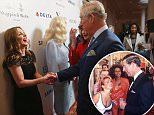 The Prince of Wales meets Geri Horner during the Prince's Trust Celebrate Success Awards at the London Palladium. PRESS ASSOCIATION Photo. Picture date: Monday March 7, 2016. See PA story ROYAL Charles. Photo credit should read: Chris Jackson/PA Wire