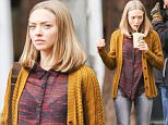 Exclusive... 51987785 Actress Amanda Seyfried is spotted on the set of 'The Last Word' in Los Angeles, California on March 4, 2016. FameFlynet, Inc - Beverly Hills, CA, USA - +1 (310) 505-9876