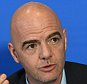 FIFA President Gianni Infantino during a press conference at St David's Hotel, Cardiff. PRESS ASSOCIATION Photo. Picture date: Friday March 4, 2016. See PA story SOCCER FIFA. Photo credit should read: Joe Giddens/PA Wire.