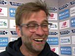 Liverpool manager Jurgen Klopp  'BOOM'  mailonline-sport-grab00017.png
