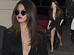 8 Mar 2016 - PARIS - FRANCE  Selena Gomez leaves her Paris hotel. Her knickers were showing as she walked from her car.  BYLINE MUST READ : XPOSUREPHOTOS.COM  ***UK CLIENTS - PICTURES CONTAINING CHILDREN PLEASE PIXELATE FACE PRIOR TO PUBLICATION ***  **UK CLIENTS MUST CALL PRIOR TO TV OR ONLINE USAGE PLEASE TELEPHONE   44 208 344 2007 **