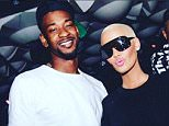 Amber Rose and Terrence Ross