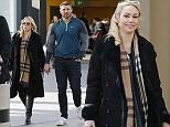 Picture Shows: Kristina Rihanoff, Ben Cohen  March 07, 2016\n \n **Min £50 Per Picture Web/Online Usage Fee**\n \n Celebrity Contestants of 'The Jump' pictured walking through Gatwick Airport after filming the finale with winner Ben Cohen and his pregnant girlfriend Kristina Rihanoff in West Sussex, England.\n \n The contestants arrived back in the UK after filming in Innsbruck, Austria. \n \n **Min £50 Per Picture Web/Online Usage Fee**\n \n Exclusive - All Round\n WORLDWIDE RIGHTS\n \n Pictures by : FameFlynet UK © 2016\n Tel : +44 (0)20 3551 5049\n Email : info@fameflynet.uk.com