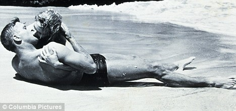 Original: The scene was inspired by 1953 film From Here To Eternity, starring Burt Lancaster and Deborah Kerr