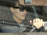 Please contact X17 before any use of these exclusive photos - x17@x17agency.com   MAKE UP FREE Kim Kardashian hitting gym in Beverly Hills for first time since the birth of son Saint West. March 8, 2016  X17online.com PREMIUM EXCLUSIVE