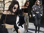Mandatory Credit: Photo by Beretta/Sims/REX/Shutterstock (5611475al) Gigi Hadid Chanel show, Arrivals, Autumn Winter 2016, Paris Fashion Week, France - 08 MAr 2016