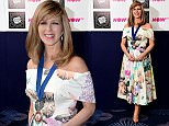 Kate Garraway in the press room at the 2016 Television and Radio Industries Club Awards, Grosvenor House, Park Lane, London. PRESS ASSOCIATION Photo. Picture date: Tuesday March 8, 2016. Photo credit should read: Ian West/PA Wire