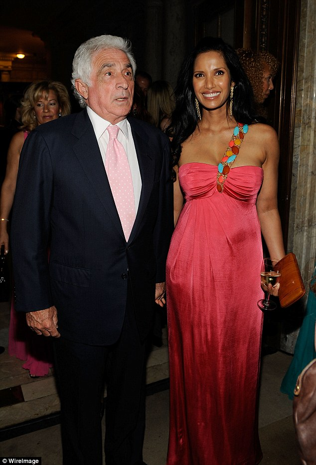 Her memoir also recounts her serious relationship with CEO of IMG Ted Forstmann (pictured above with her in 2010) who passed away in November 2011 after being diagnosed with an aggressive brain cancer