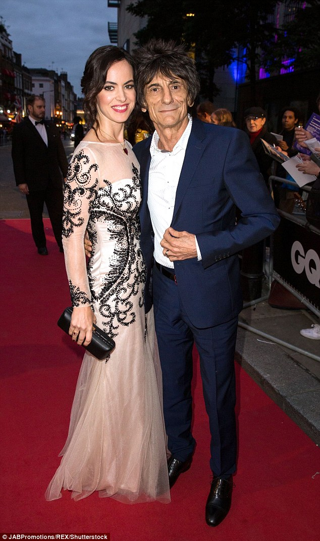 In for a surprise: Jo recently joked about Ronnie' impending fatherhood, 'Now he's stone cold sober I think he'll get a shock'