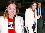 Olivia Wilde and Jason Sudeikis arrive at the 'Altantic Theater Company Actors Choice gala' at the Pierre Hotel in NYC\n\nPictured: Olivia Wilde and Jason Sudeikis\nRef: SPL1242437  070316  \nPicture by: Jackson Lee / Splash News\n\nSplash News and Pictures\nLos Angeles: 310-821-2666\nNew York: 212-619-2666\nLondon: 870-934-2666\nphotodesk@splashnews.com\n
