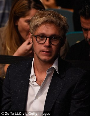 New girlfriend? Niall is said to have invited the beauty to a second sporting event the next night