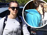 Exclusive... 51991175 Former nanny Mindy Mann, who broke up Gwen Stefani and Gavin Rossdale's 13-year marriage, is spotted out and about in Los Angeles, California on March 8, 2016 after recently revealing that she is pregnant. Although Mindy has not revealed the identity of the father, she has been dating snowboarding instructor Spencer Gutcheon, who she can be seen sharing a kiss with before heading to work. ***NO WEB USE W/O PRIOR AGREEMENT - CALL FOR PRICING*** Former nanny Mindy Mann, who broke up Gwen Stefani and Gavin Rossdale's 13-year marriage, is spotted out and about in Los Angeles, California on March 8, 2016, after recently revealing that she is pregnant. Although Mindy has not revealed the identity of the father, she has been dating snowboarding instructor Spencer Gutcheon, who she can be seen sharing a kiss with before heading to work. ***NO WEB USE W/O PRIOR AGREEMENT - CALL FOR PRICING*** FameFlynet, Inc - Beverly Hills, CA, USA - +1 (310) 505-9876