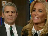 Reality TV star Kim Richards is the guest.\nBravo network executive Andy Cohen discusses pop culture topics with celebrities and reality show personalities. \n